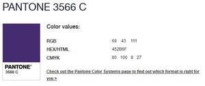 PANTONE 3566 C