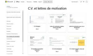 Templates CV Microsoft Office