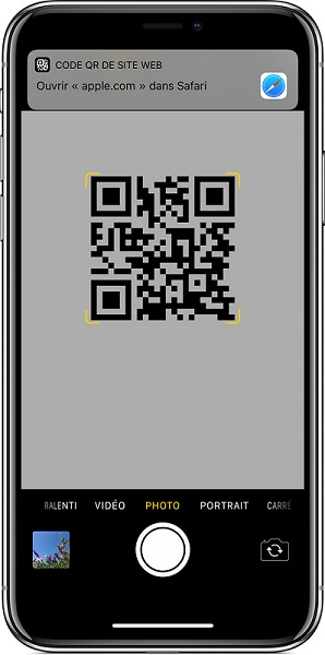 iOS lecture code QR